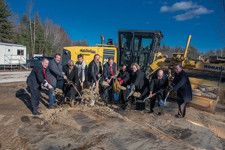 Groundbreaking for 102-unit Affordable Housing Complex for Seniors in Londonderry